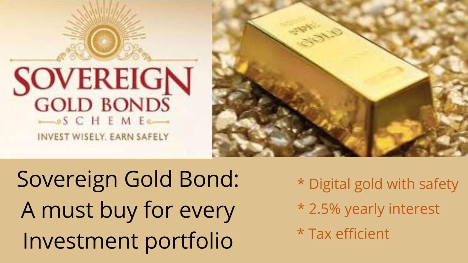 sovereign gold bond 2021